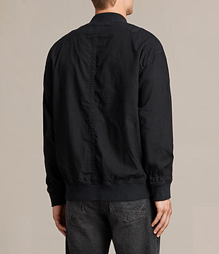 Mens Blix Bomber Jacket (Black) - product_image_alt_text_5