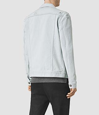 Hommes Trust Denim Jacket (LIGHT INDIGO BLUE) - product_image_alt_text_3