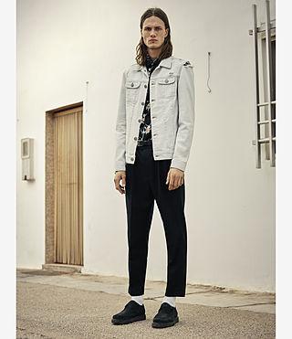 Uomo Trust Denim Jacket (LIGHT INDIGO BLUE) - product_image_alt_text_4