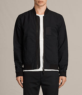 Men's  Cray Bomber Jacket (Black) -