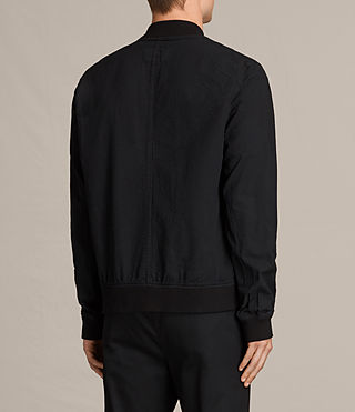 Men's  Cray Bomber Jacket (Black) - product_image_alt_text_3