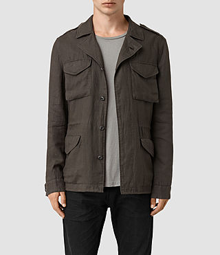 Hommes Vansant Jacket (ANTHRACITE GREY) -