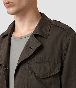 Hommes Vansant Jacket (ANTHRACITE GREY) - product_image_alt_text_2