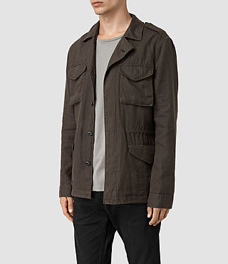 Hommes Vansant Jacket (ANTHRACITE GREY) - product_image_alt_text_3