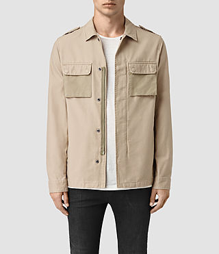 Mens Holden Shirt (Sand)