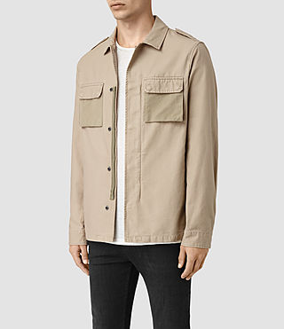 Men's Holden Shirt (Sand) - product_image_alt_text_2