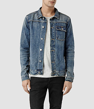 Mens Nika Denim Jacket (Light Indigo)