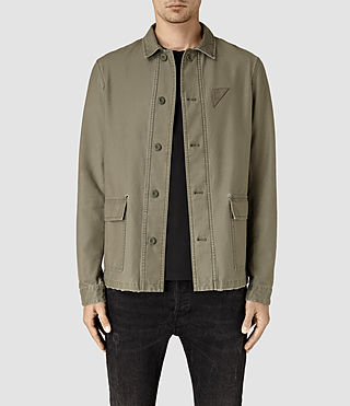 Mens Manse Jacket (Khaki Green)