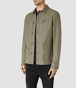 Men's Manse Jacket (Khaki Green) - product_image_alt_text_2