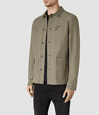 Uomo Manse Jacket (Khaki Green) - product_image_alt_text_2