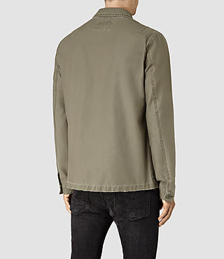 Men's Manse Jacket (Khaki Green) - product_image_alt_text_3