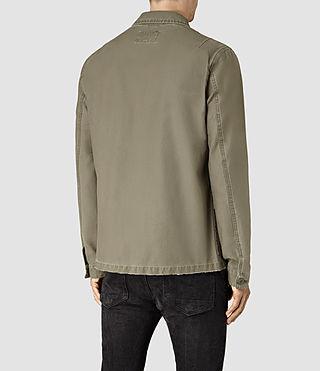 Hombres Manse Jacket (Khaki Green) - product_image_alt_text_3