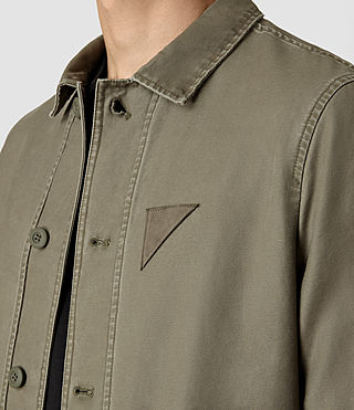 Men's Manse Jacket (Khaki Green) - product_image_alt_text_4
