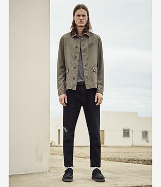 Hombres Manse Jacket (Khaki Green) - product_image_alt_text_5