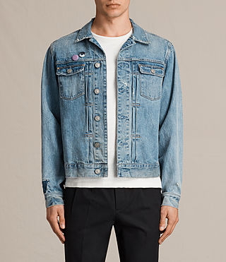Herren Idaho Denim Jacket (Indigo Blue)