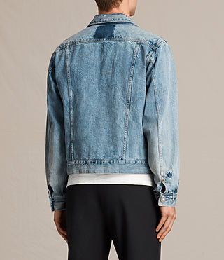 Men's Idaho Denim Jacket (Indigo Blue) - product_image_alt_text_4