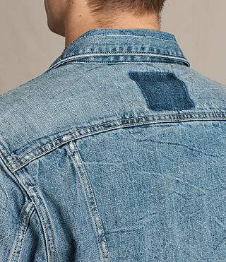 Men's Idaho Denim Jacket (Indigo Blue) - product_image_alt_text_5