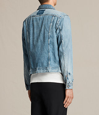 Men's Idaho Denim Jacket (Indigo Blue) - product_image_alt_text_6