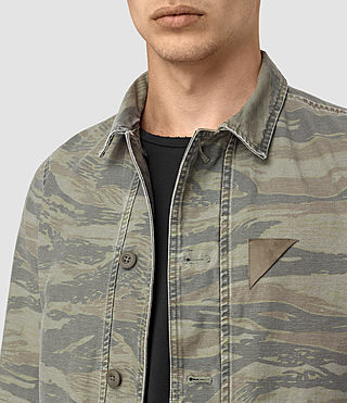 Uomo Storm Overshirt (Khaki Brown) - product_image_alt_text_3