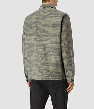 Hombre Storm Overshirt (Khaki Brown) - product_image_alt_text_4