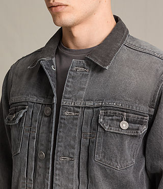 Hommes Galion Denim Jacket (Grey) - product_image_alt_text_2