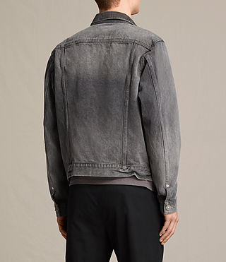 Hommes Galion Denim Jacket (Grey) - product_image_alt_text_4
