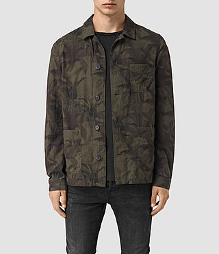 Hombre Kuto Jacket (Khaki Green) - product_image_alt_text_1