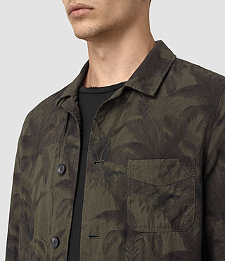 Men's Kuto Jacket (Khaki Green) - product_image_alt_text_2