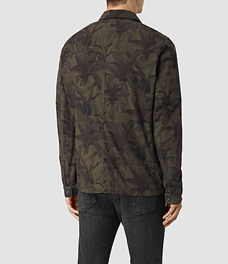 Herren Kuto Jacket (Khaki Green) - product_image_alt_text_4