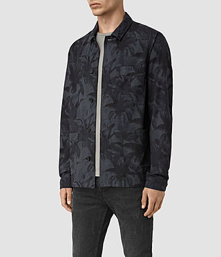 Hommes Kuto Jacket (INK NAVY) - product_image_alt_text_3