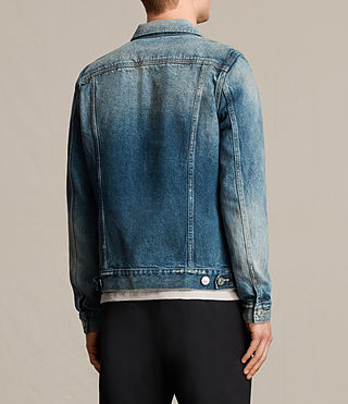 Mens Irmo Denim Jacket (Indigo Blue) - product_image_alt_text_4
