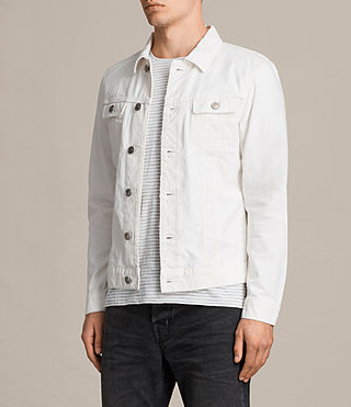 Men's Glover Denim Jacket (Vintage White) - product_image_alt_text_3