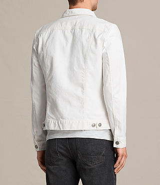 Men's Glover Denim Jacket (Vintage White) - product_image_alt_text_4