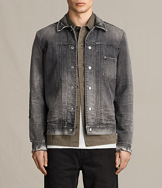 Mens Gambola Denim Jacket (Grey)