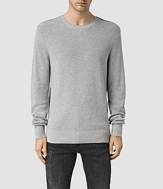 Mens Farn Crew Sweater (Greymarl)