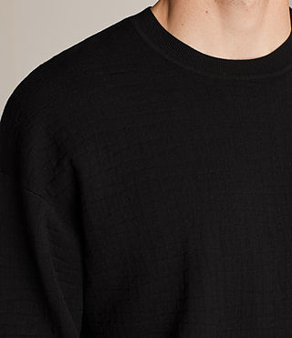 Men's Ander Crew Jumper (Black) - Image 2
