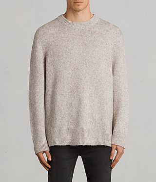 Hombre Jersey Harnden (Taupe Marl) - Image 1