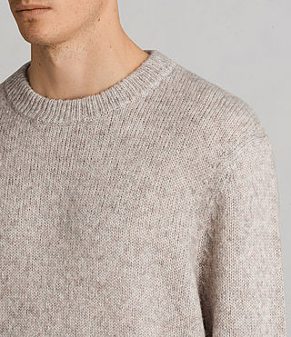 Hombre Jersey Harnden (Taupe Marl) - Image 2