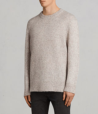 Hombre Jersey Harnden (Taupe Marl) - Image 3