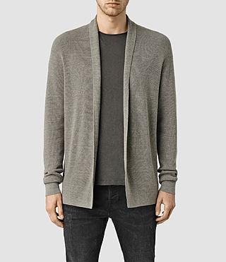 Men's Esk Cardigan (Military Grey)