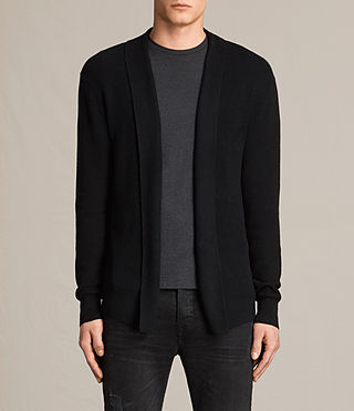 Men's Esk Cardigan (Black)