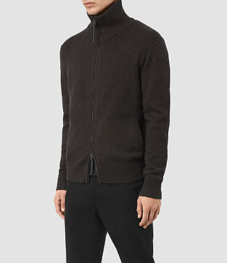 Hombre Mavven Zip Through (BITTER BLACK MARL) - product_image_alt_text_3