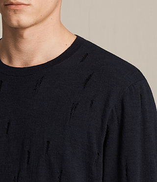Mens Emms Crew Sweater (INK NAVY) - product_image_alt_text_2