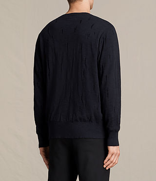 Mens Emms Crew Sweater (INK NAVY) - product_image_alt_text_4