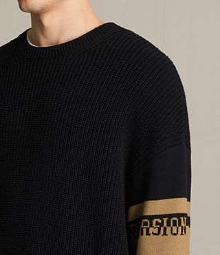 Hommes Pull Svbversion (Black) - product_image_alt_text_2