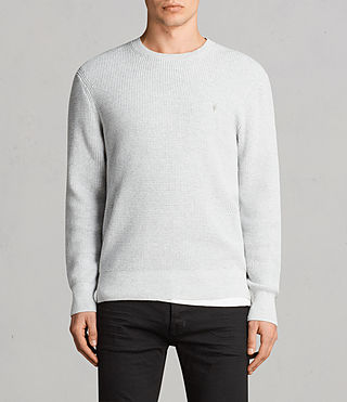 Men's Mert Crew Jumper (MARCH GREY MARL) - Image 1
