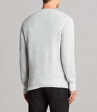 Men's Mert Crew Jumper (MARCH GREY MARL) - Image 4