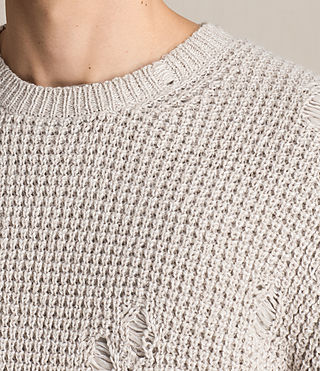 Hombre Vektarr Crew Sweater (Marble Grey) - product_image_alt_text_2