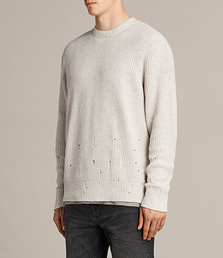 Hommes Pull Ivann (ECRU WHITE) - product_image_alt_text_3