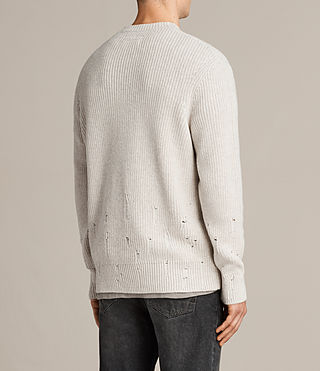 Hommes Pull Ivann (ECRU WHITE) - product_image_alt_text_4
